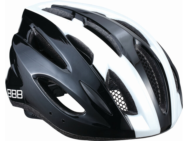 BBB Condor BHE-35 Kask rowerowy, black/white